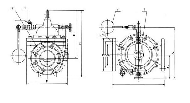 浮球阀工作原理和遥控浮球阀工作原理图片