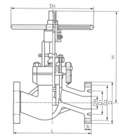 Z81 卡箍楔式闸阀