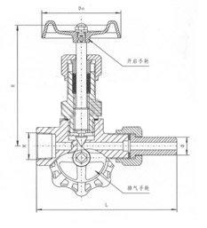 J19H压力表针型阀